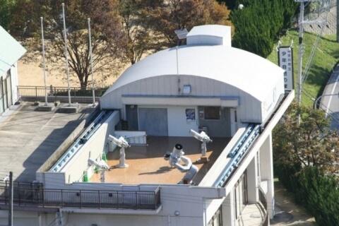 少年自然の家の天体観測室