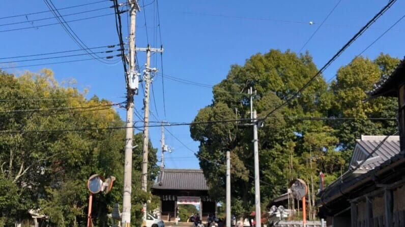 加古川ツーデーマーチ日岡神社前