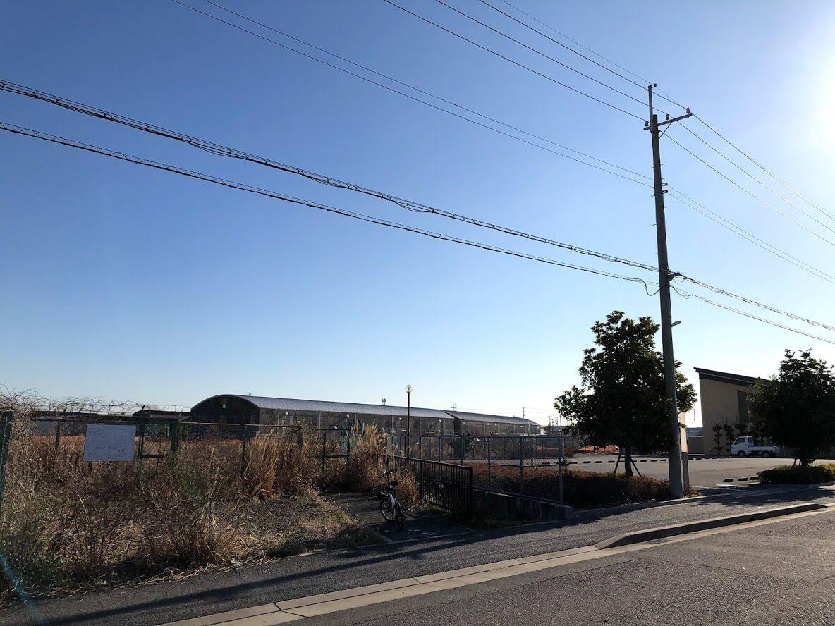 JAやすらぎ会館と日本ハム兵庫工場跡地