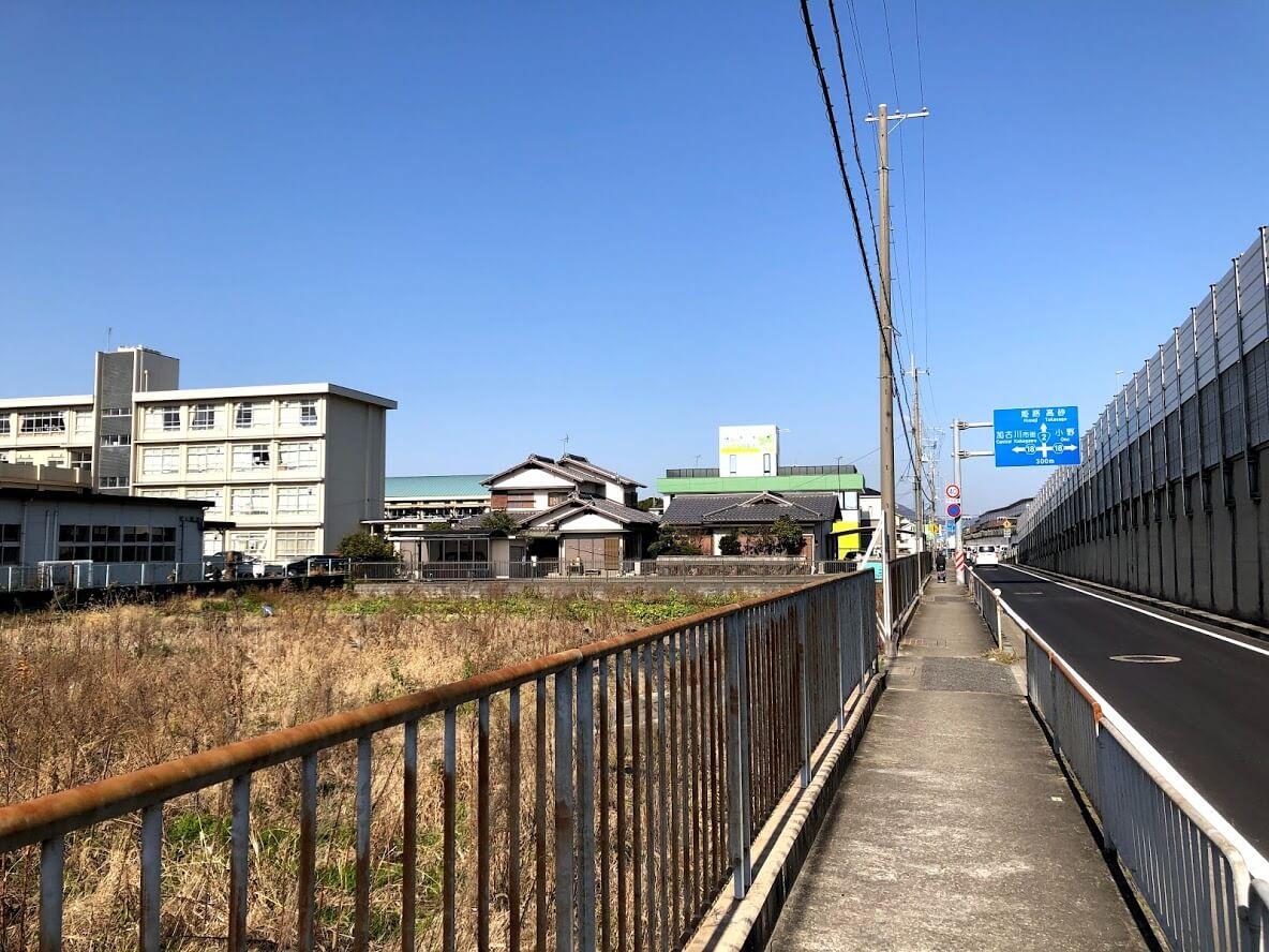 加古川バイパス側道