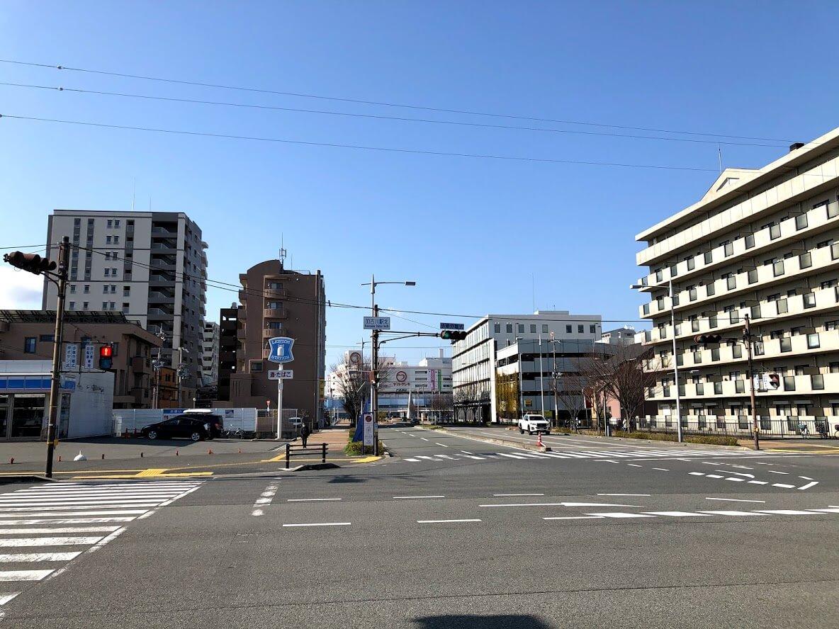 加古川駅北交差点