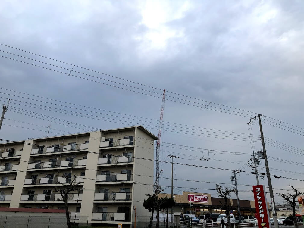 リアラス東加古川の工事の様子
