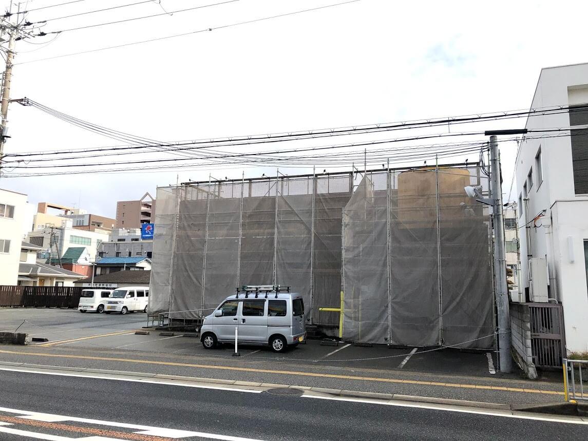 味噌らーめん専門店 麺場 田所商店 東加古川店の工事の様子