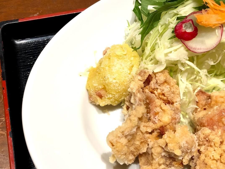 ビストロしゃかりき定食のサラダ