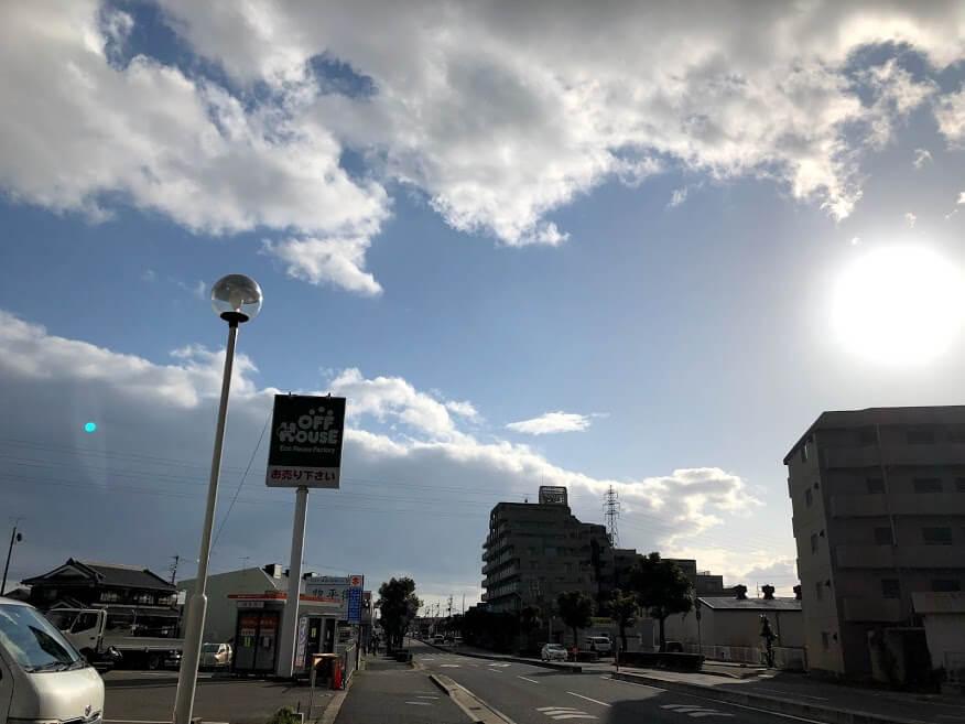 アグロワーク加古川店の前の様子