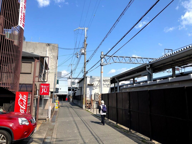 東加古川駅南口エスカレーター