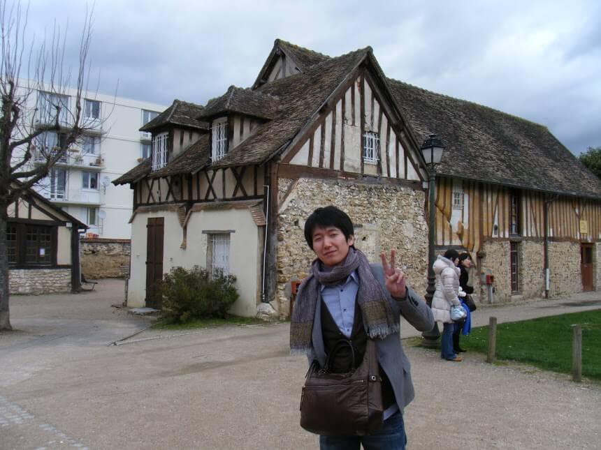 フランス旅行の写真
