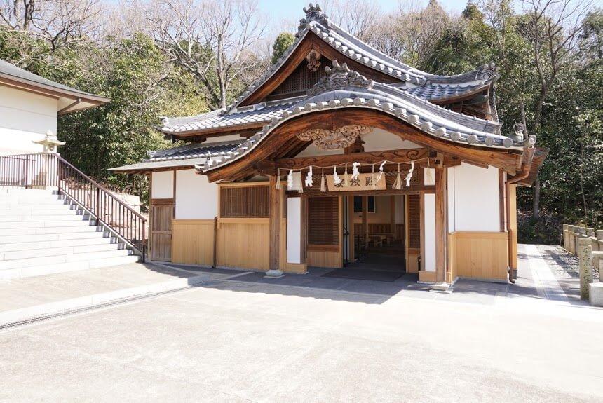日岡神社の安授殿