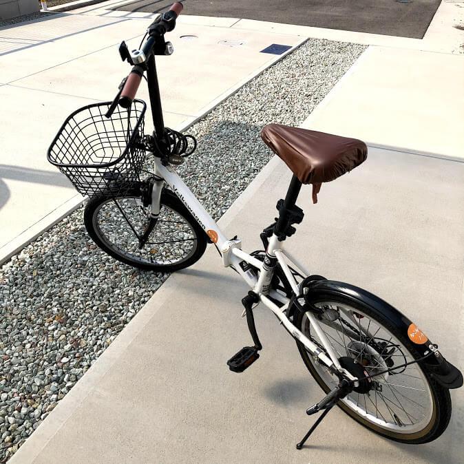 フォルクスワーゲンの折りたたみ自転車