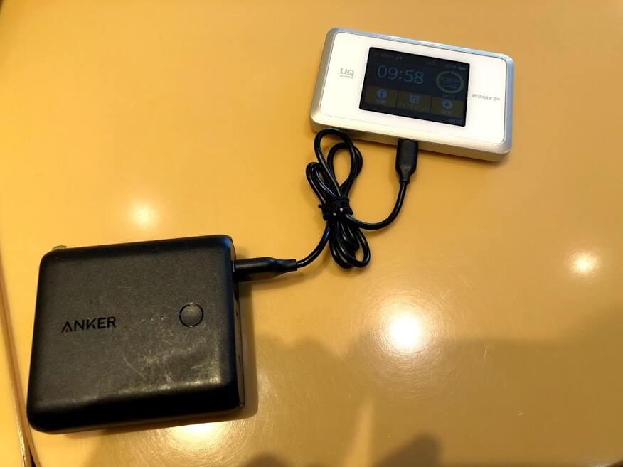 WiMAXとモバイルバッテリー