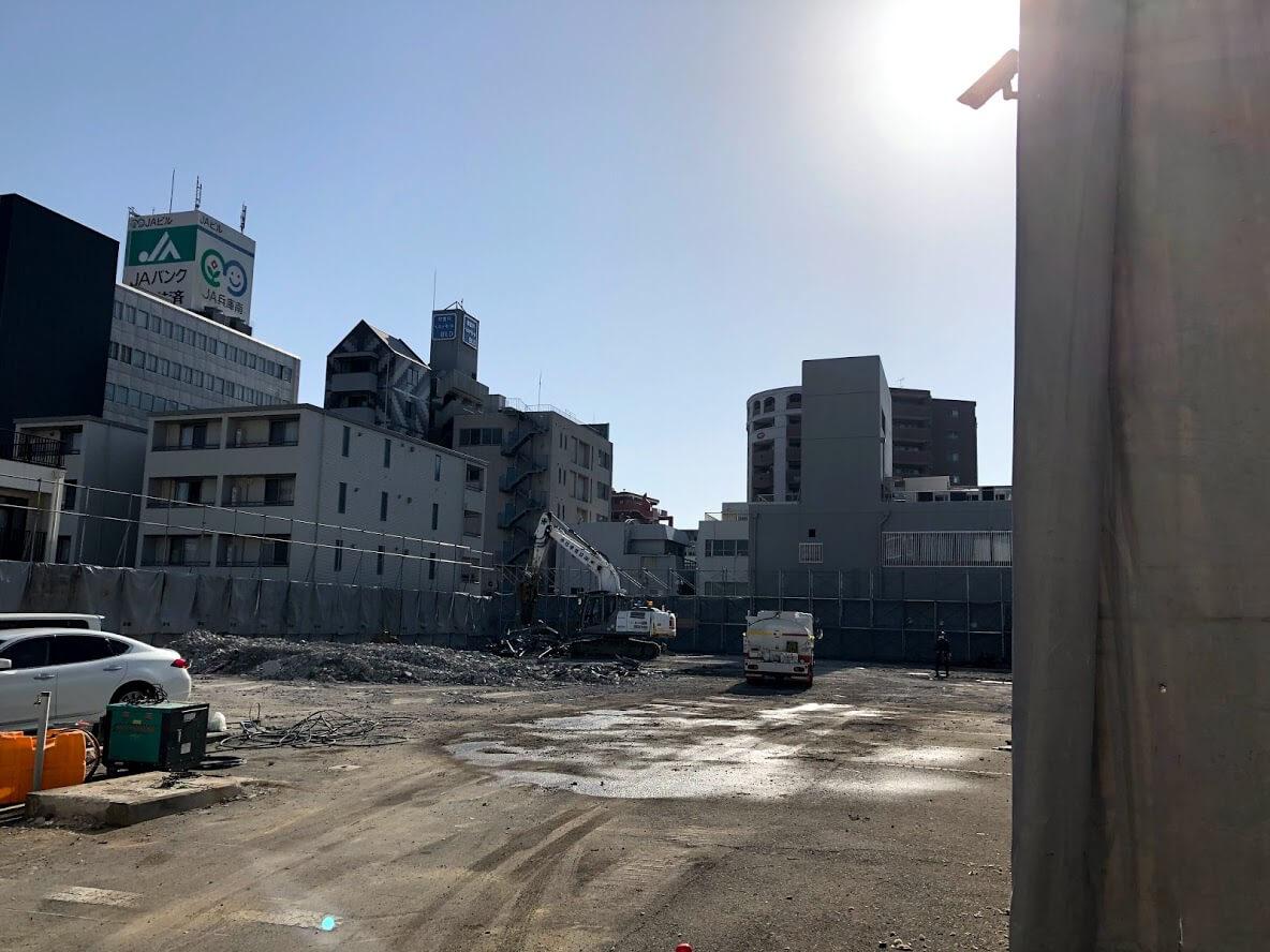 加古川寺家町の近鉄不動産マンション建設予定地