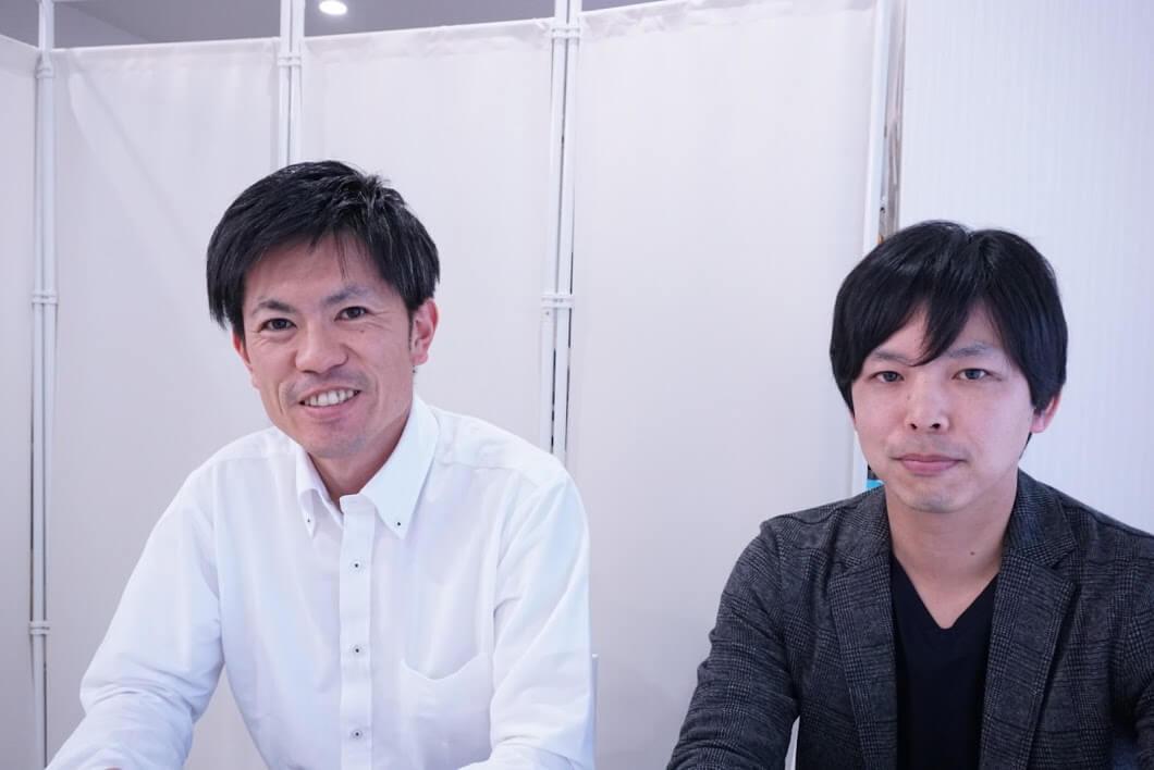 FINDの小谷浩之さんと西村翔太さん