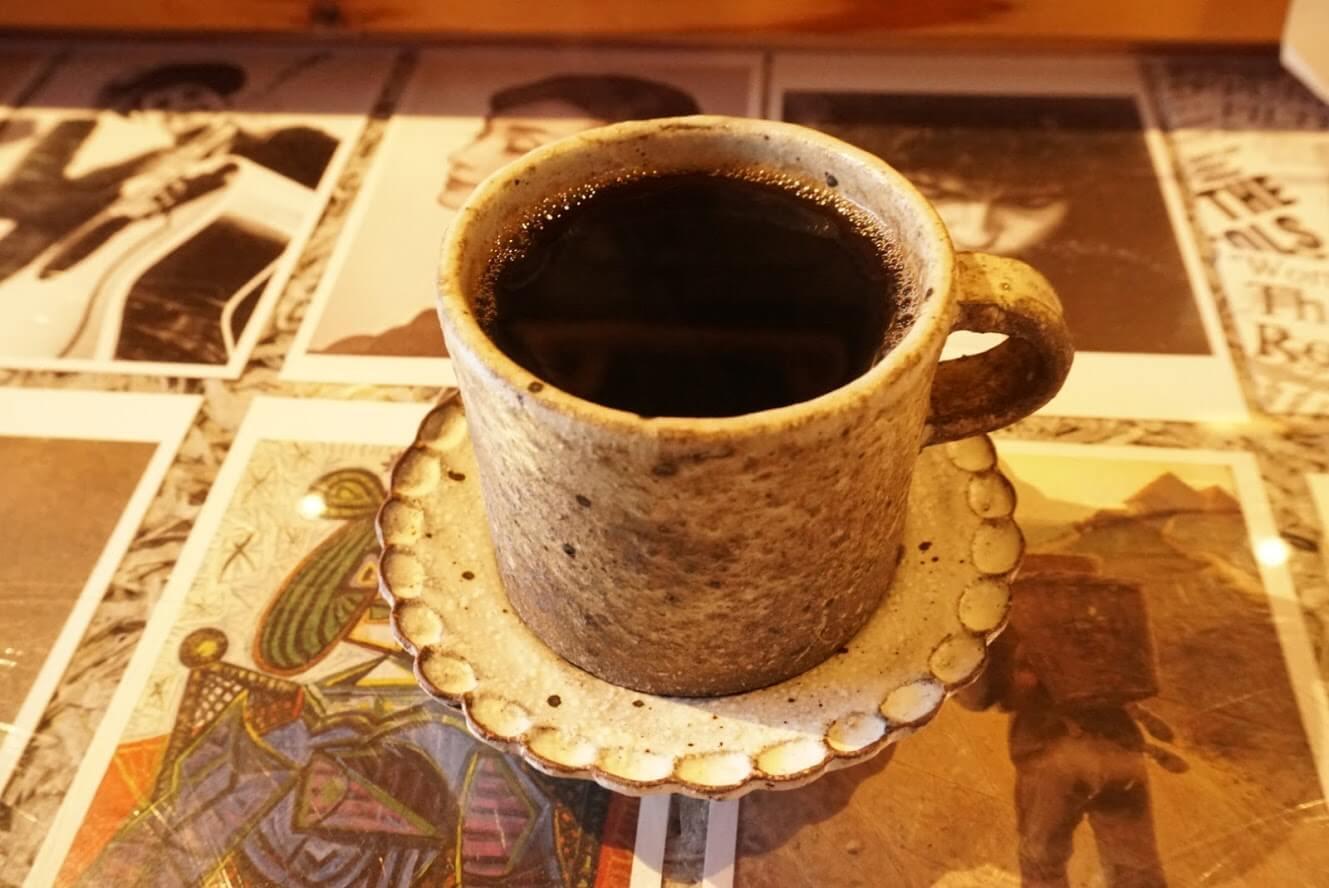 タテイト珈琲店のコーヒー