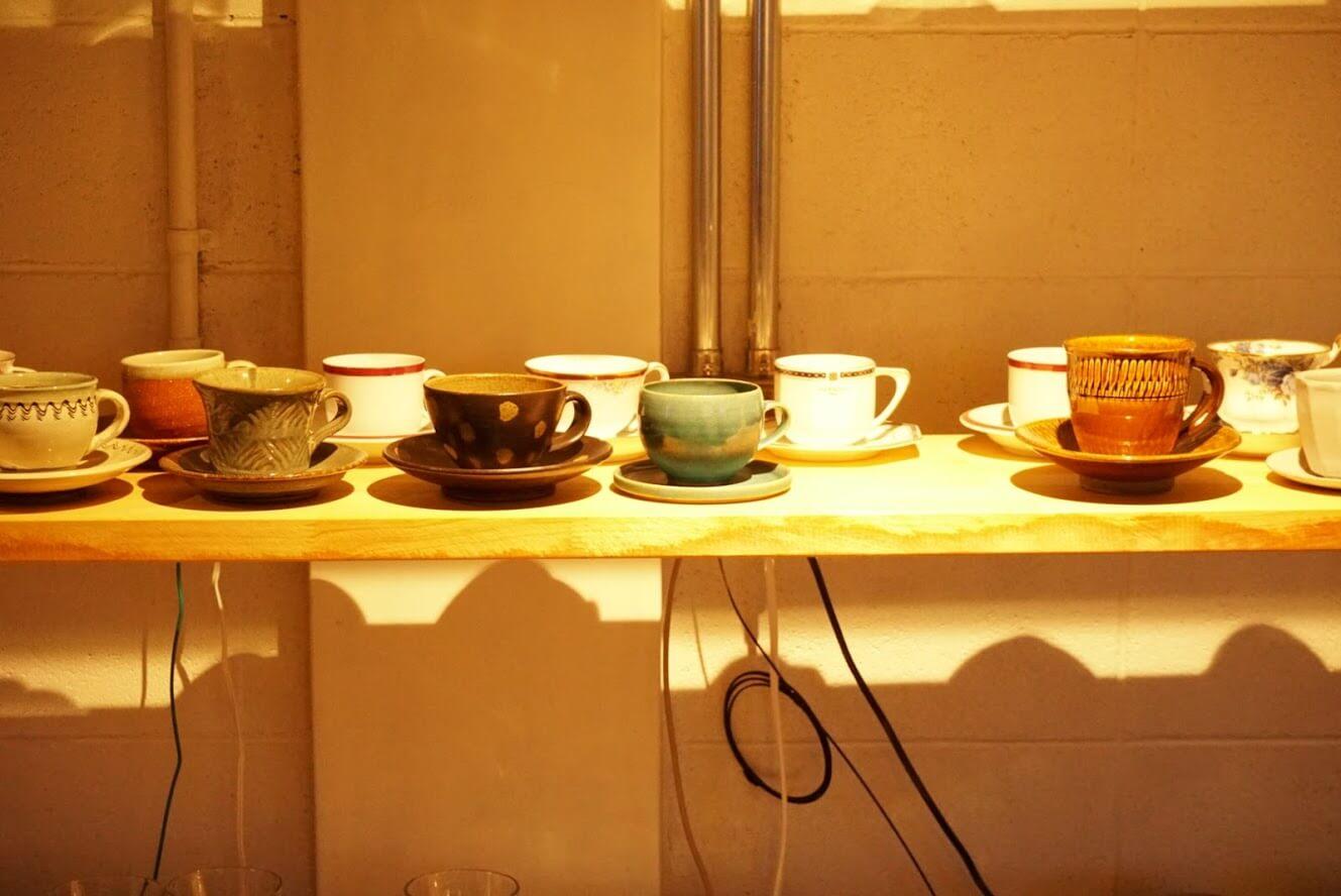 タテイト珈琲店のコーヒーカップ