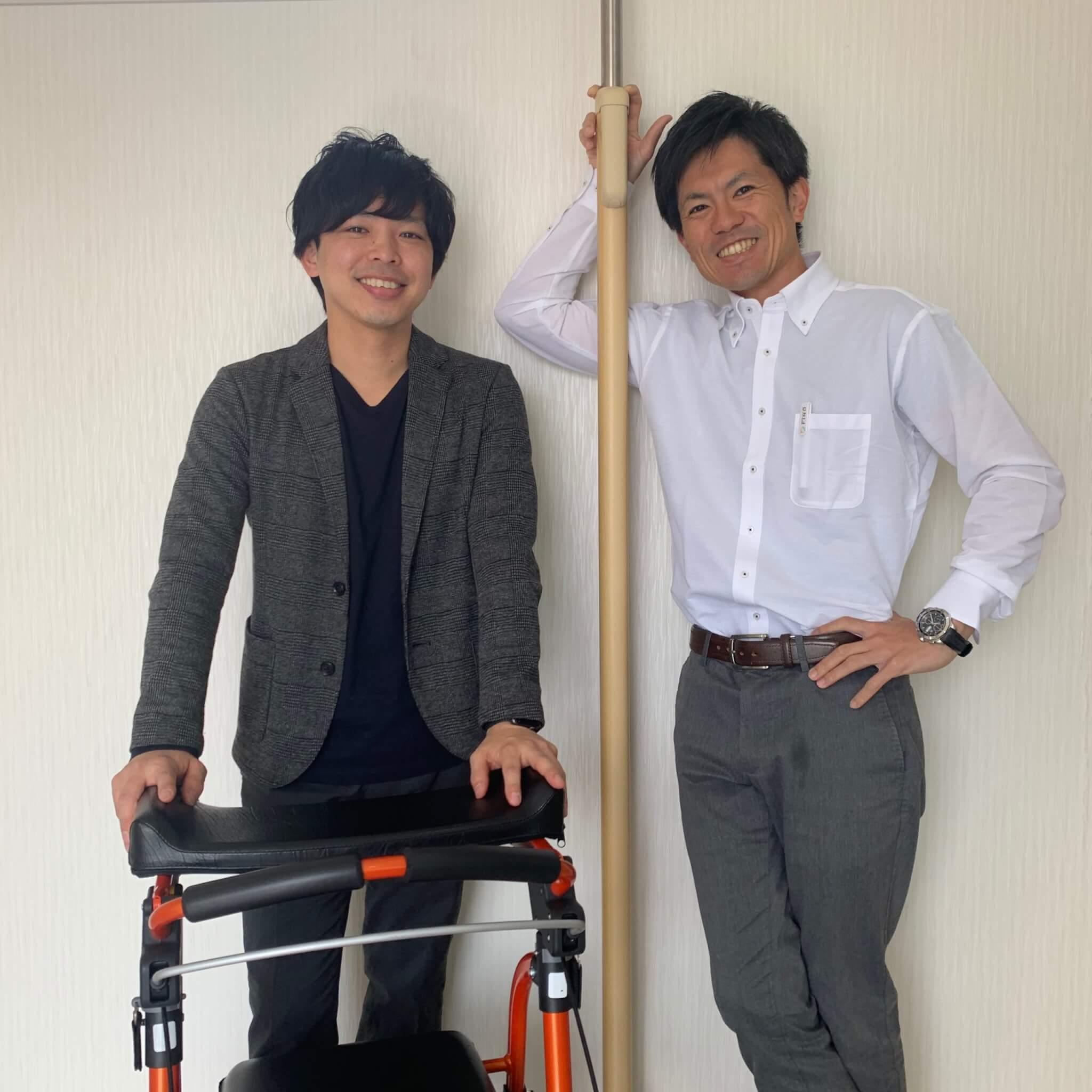 FINDの西村さんと小谷さん