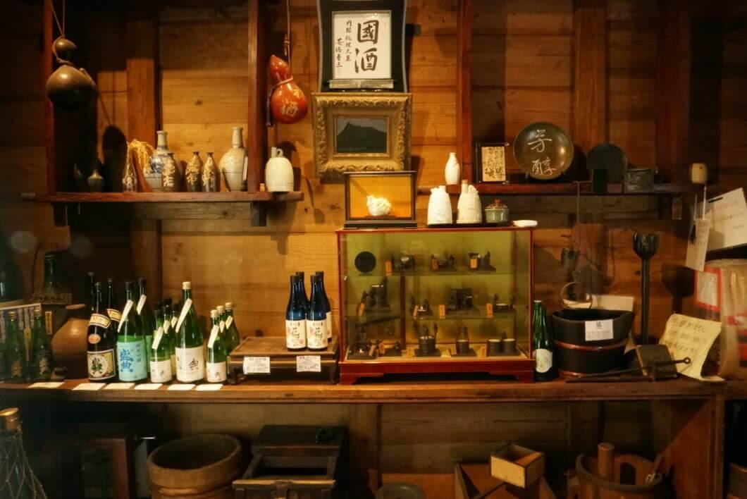 岡田本家の常温の日本酒