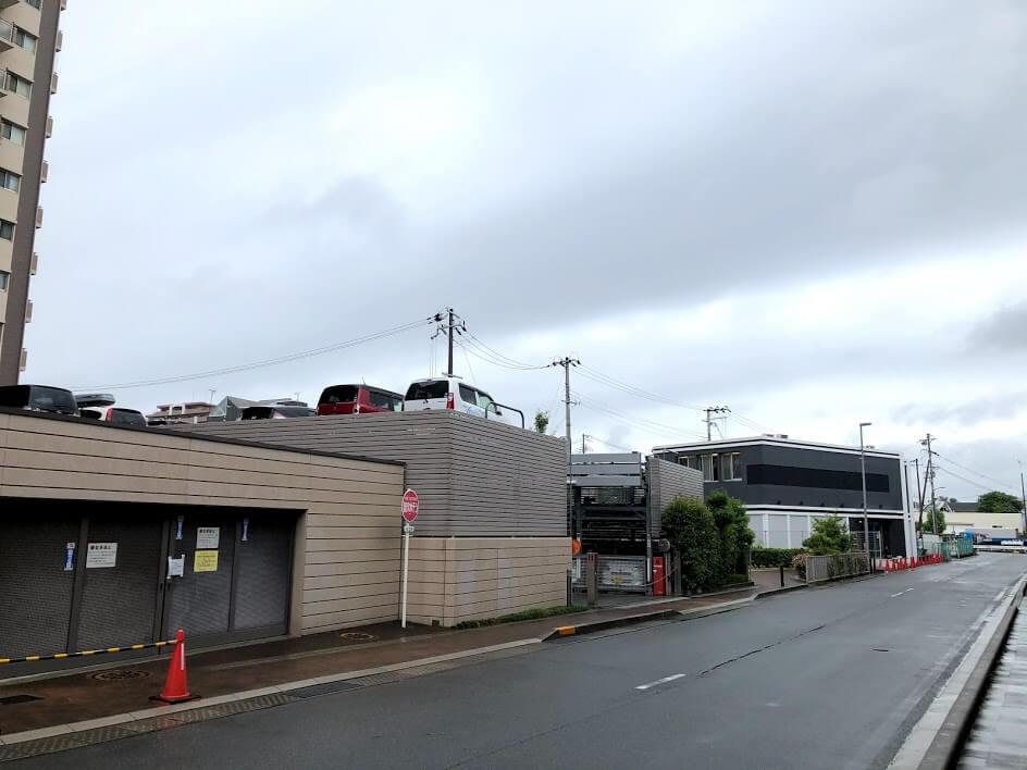 JR加古川駅前街区マンションプロジェクトのモデルルームの位置
