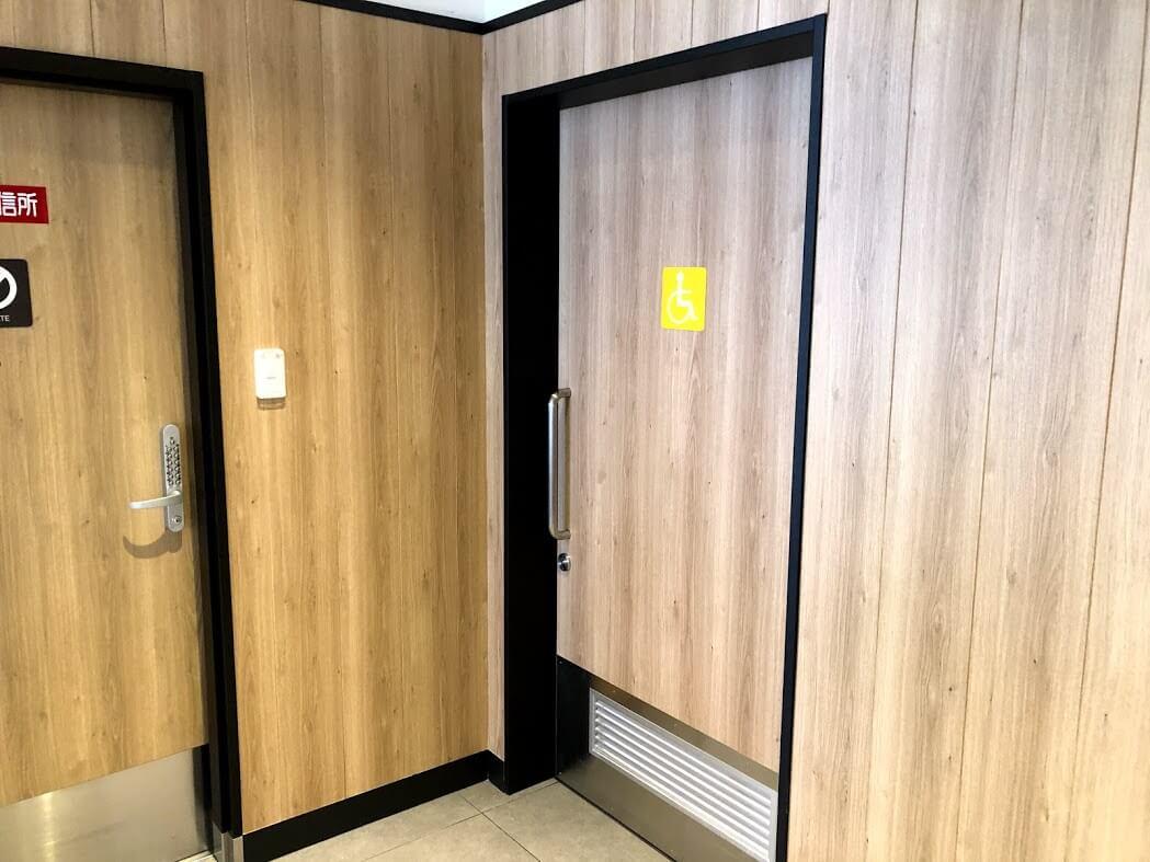 マクドナルド加古川店多目的トイレ