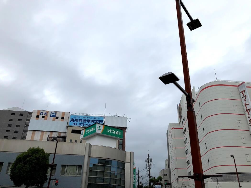 りそな銀行加古川支店とヤマトヤシキ