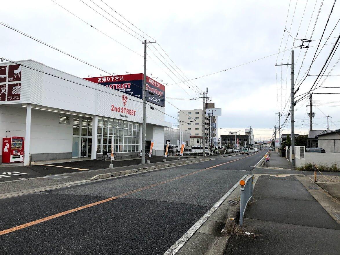 セカンドストリート加古川土山店とスギ薬局グループ新店工事
