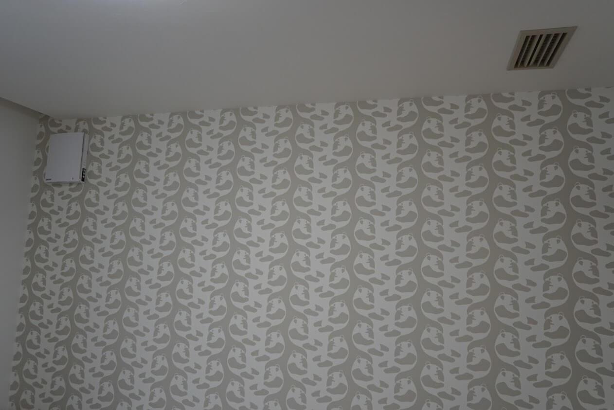KATARIE子ども部屋壁面と天井部