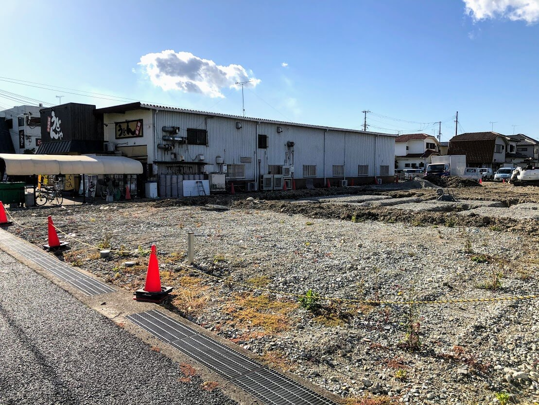 辻田会計事務所建築予定地
