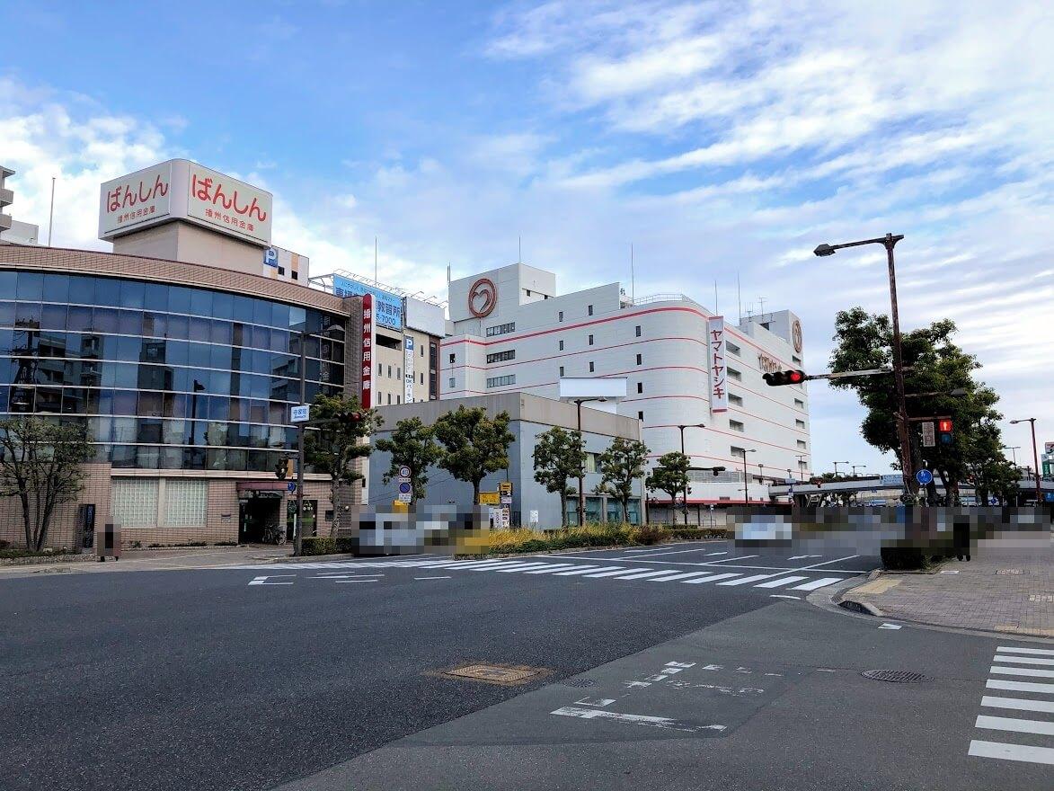 (仮称)リベール加古川駅前の予定地