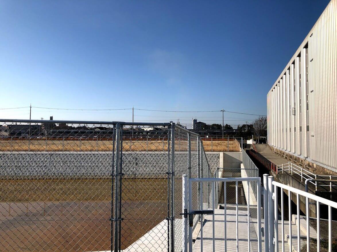 (仮称)加古川市平岡町高畑計画の予定地を北側から見た様子