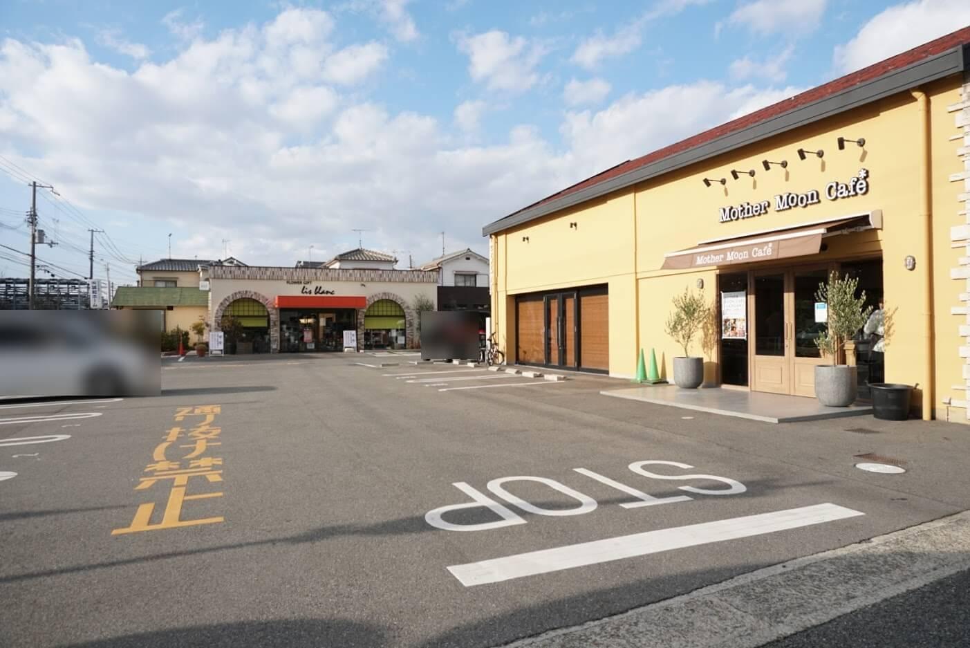 マザームーンカフェ加古川店駐車場