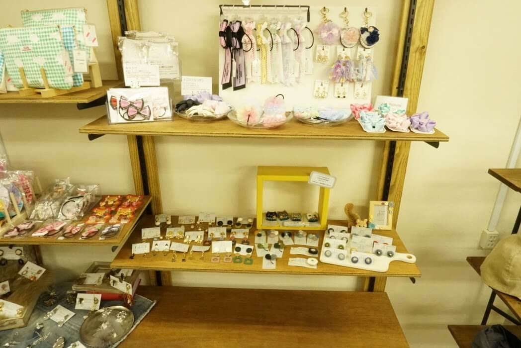 アステル洋品店ハンドメイド作家さんの売り場7