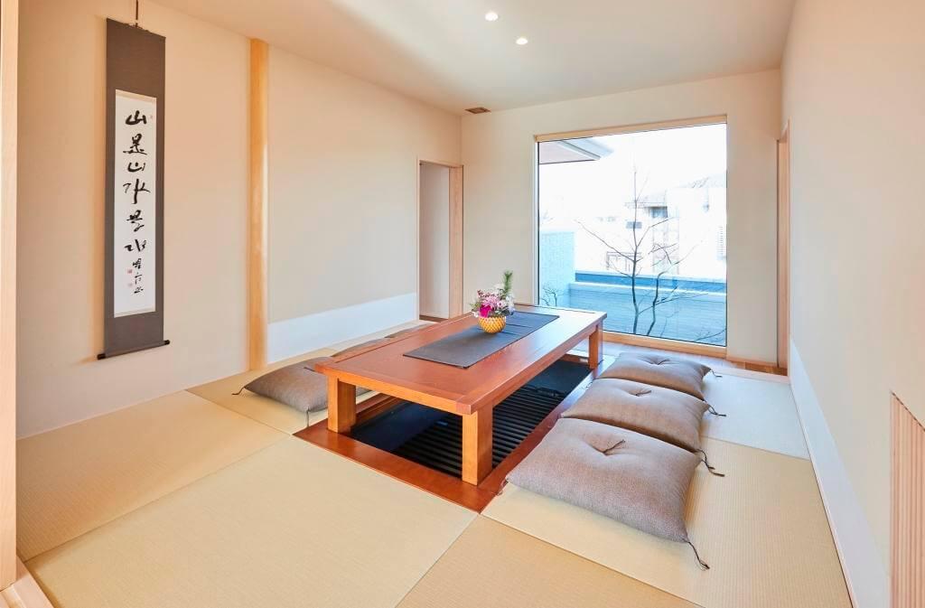 積水ハウス加古川展示場の和室