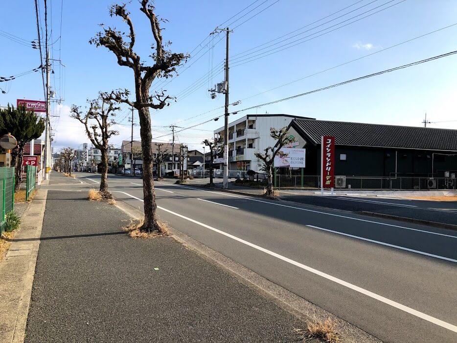 コインランドリーデポ加古川平岡店とル・パスタガーデン