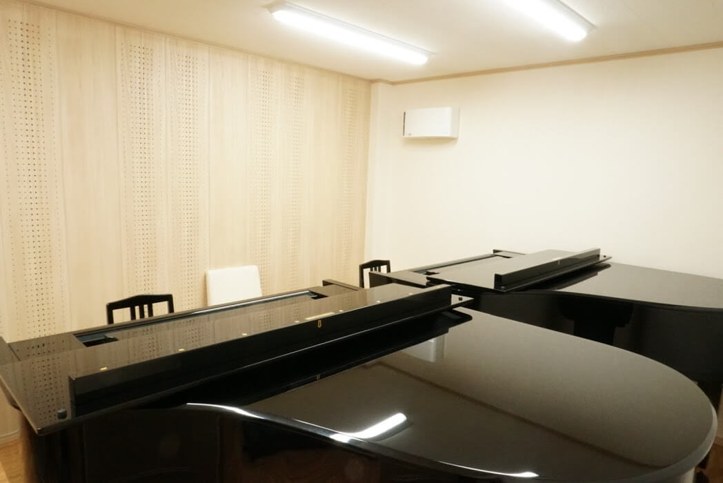 ブリランテピアノ教室のレッスン室の換気扇