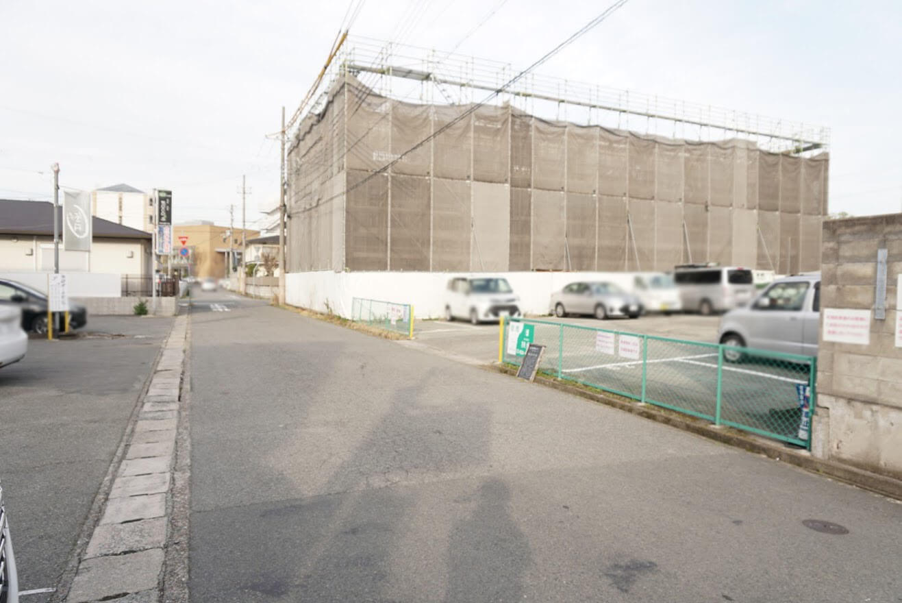 加古川郵便局駐車場