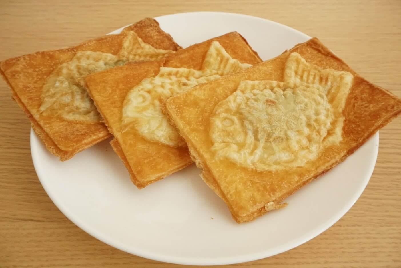 クロワッサン鯛焼き3種類