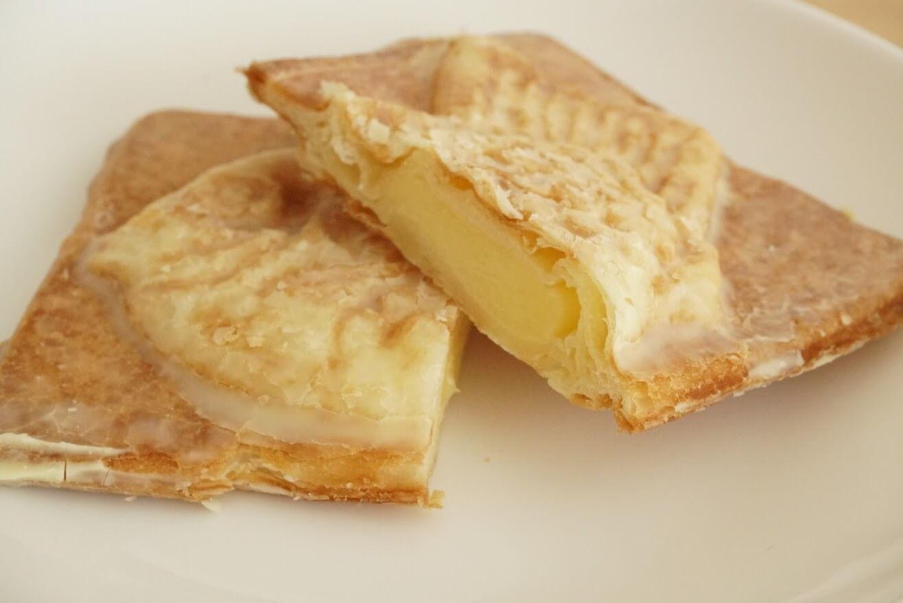 ミルクバターで仕上げた「贅沢」クロワッサン鯛焼き濃厚カスタード