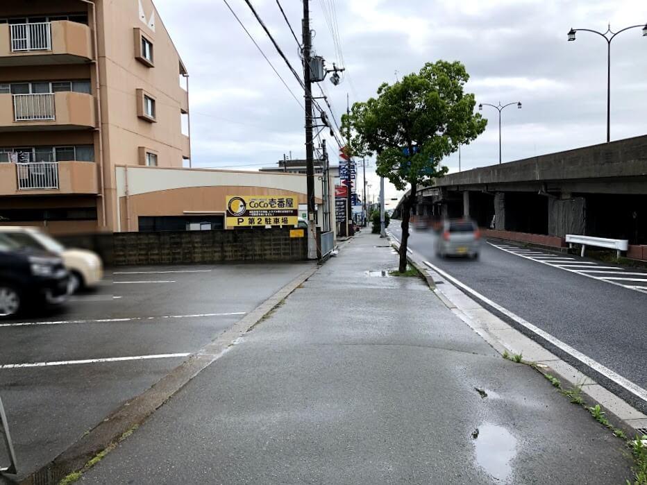 CoCo壱番屋加古川平岡店第2駐車場