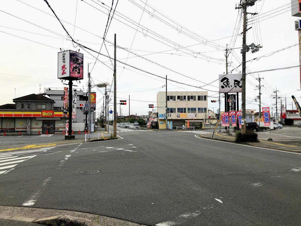 デイリーヤマザキ加古川別府店のある交差点