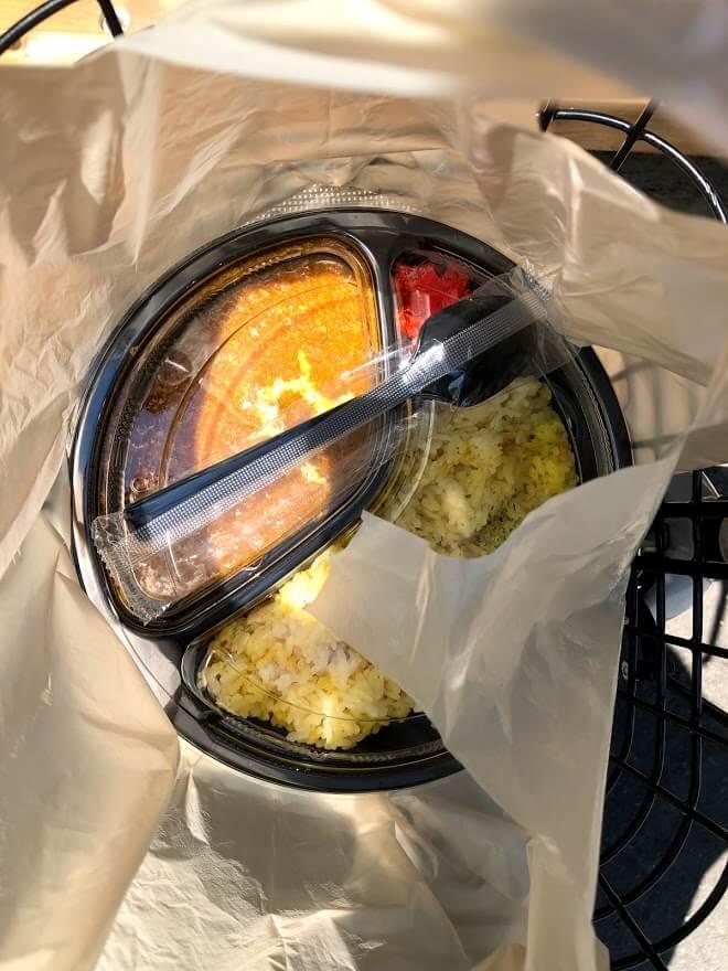 オリガミ・ラボのバターチキンカレー