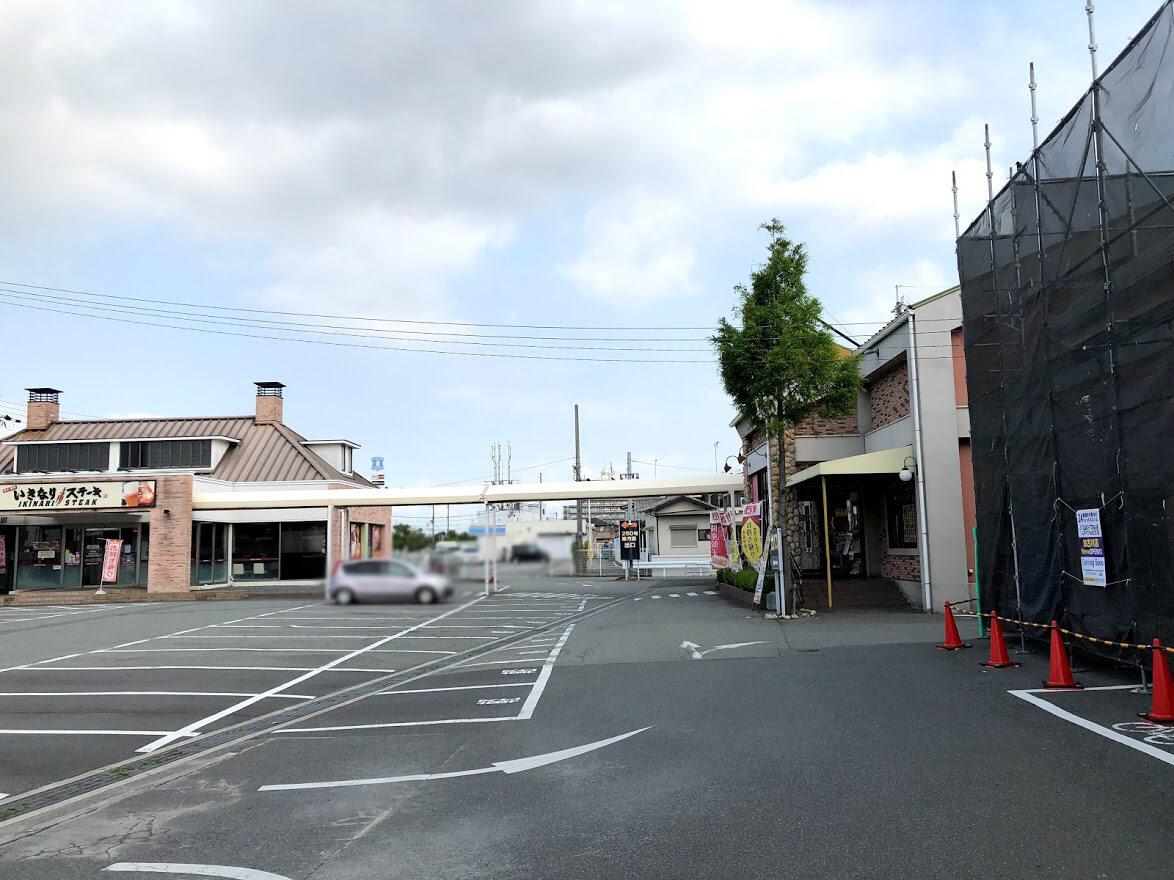 餃子の王将東加古川店とエニタイムフィットネス加古川店予定地の位置関係