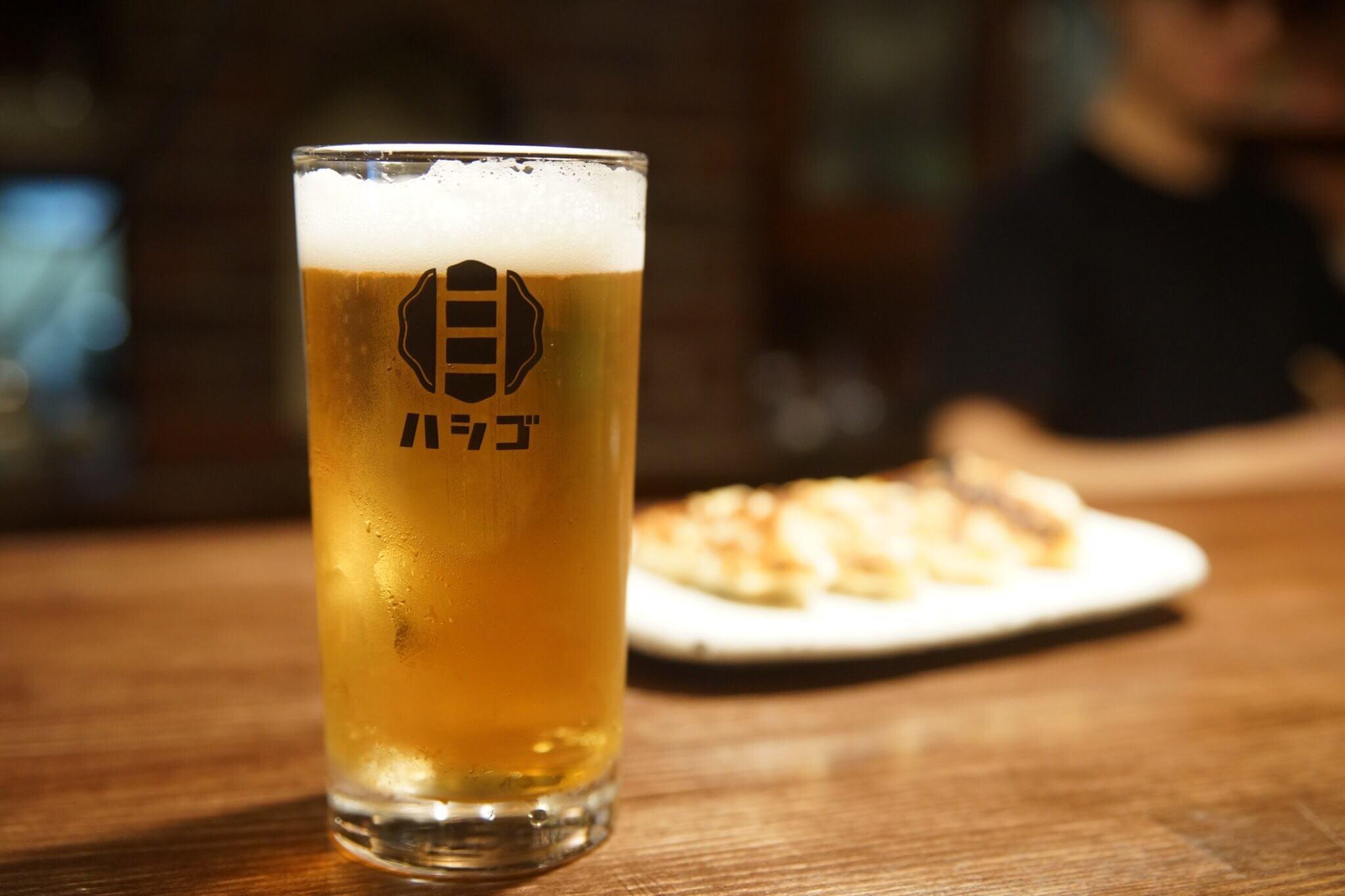 餃子バル ハシゴのビール