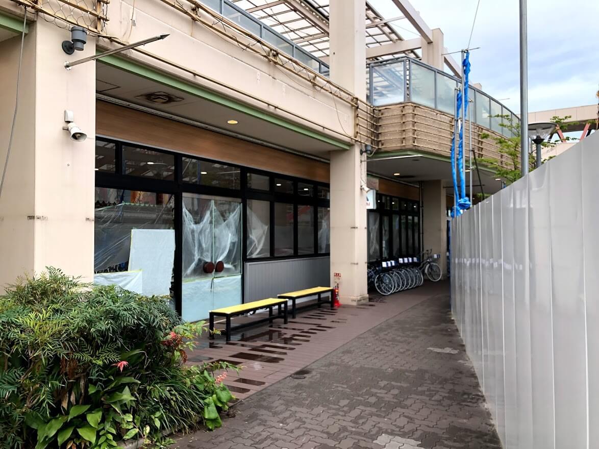 サイクルベースあさひ加古川別府店のオープン準備の様子