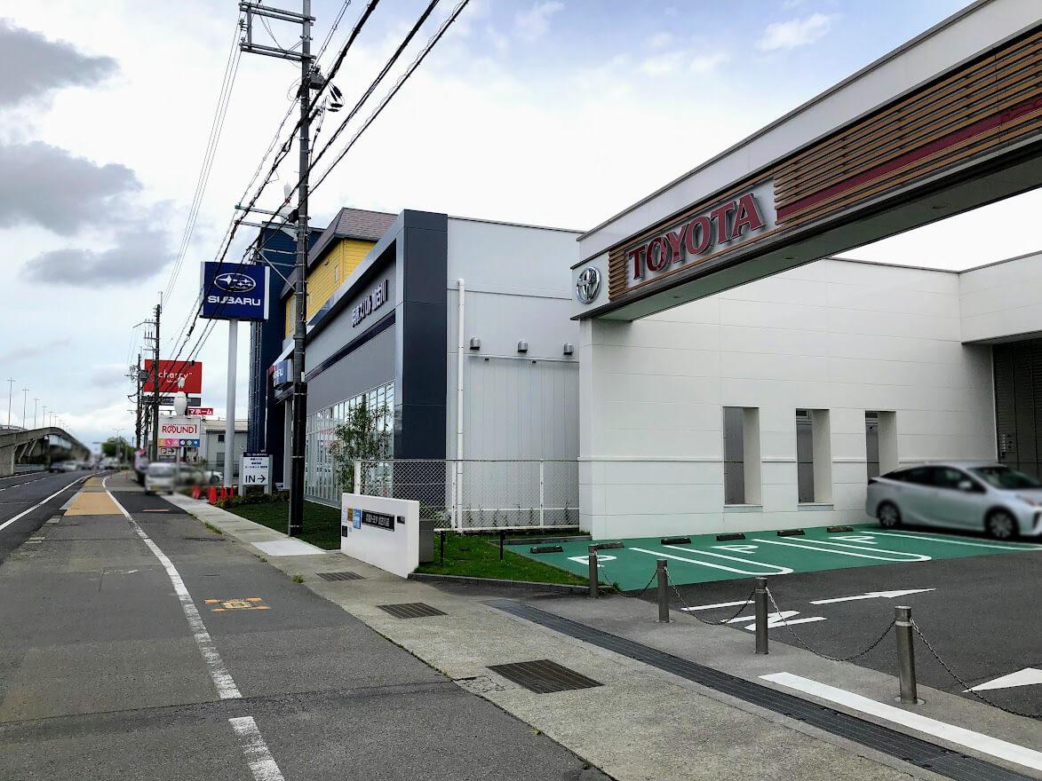 スバル加古川店新店舗の場所