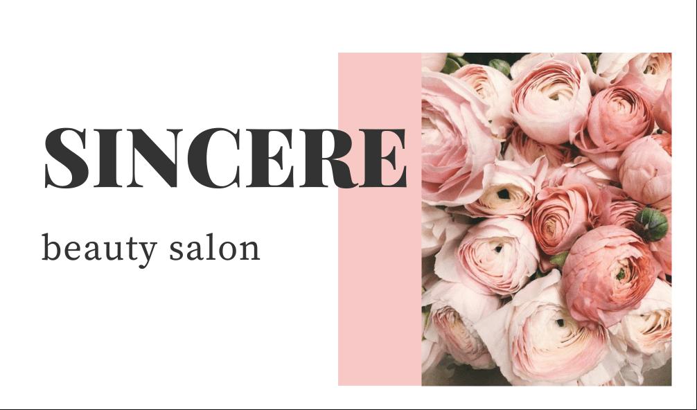 SINCERE beauty salonイメージ